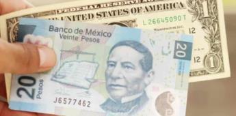 Dólar al menudeo se vende en más de 21 pesos.