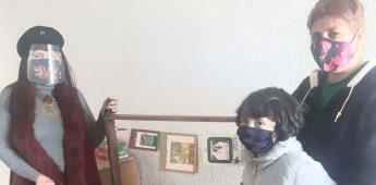 Lleva Educación programa de Libreros Colgantes a niñas y niños de San Quintín