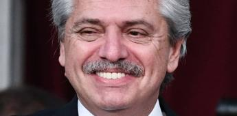 México tiene el primer presidente honesto: Alberto Fernández.