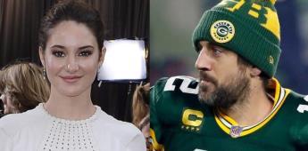 Shailene Woodley confirma que está comprometida con Rodgers.