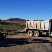 Retira Servicios Públicos 30 toneladas de basura de tiradero clandestino.