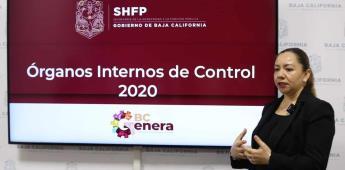 Se conformaron 39 órganos internos de control durante 2020
