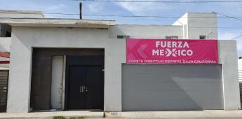 Se da inspección en oficinas del Comité Directivo Estatal Baja California del Partido Fuerza México