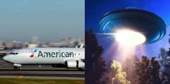 Piloto de American Airlines tiene avistamiento OVNI en pleno vuelo