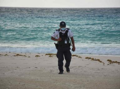 Anuncian cierre de playas de Culiacán en Semana Santa.