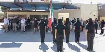 DIF BC celebró el día de la bandera en sus instalaciones y albergues temporales