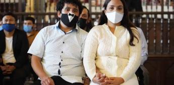 Une Armando Ayala a parejas en ceremonia de Matrimonios Colectivos 2021