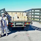 Llegan a Baja California 21 mil 450 dosis de vacuna anti-covid.