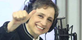 Carmen Aristegui regresa a la TV; estará en La Octava.