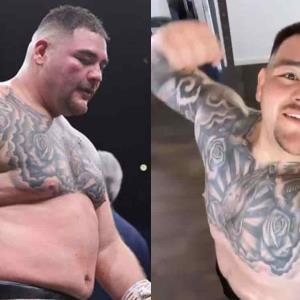 Andy Ruiz y su increíble transformación.