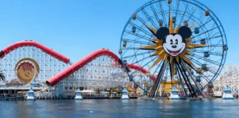 Se anuncia reapertura del parque Disney California Adventure
