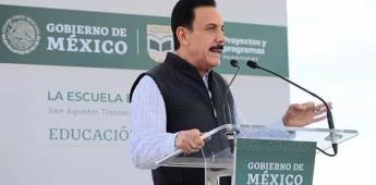 Gobernadores de Hidalgo y Tlaxcala aceptan Acuerdo Nacional.