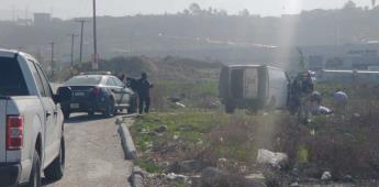 Se localiza un cuerpo encobijado  en un predio baldío sobre la vía rápida Alamar