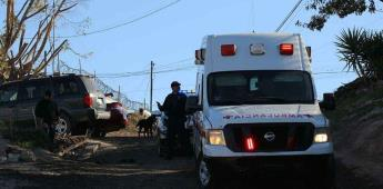 Se reportó ataque a tres hombres frente a edificio departamental