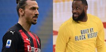 LeBron James se lanza contra Zlatan Ibrahimovic