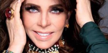A sus 68 años, Verónica Castro fascina con su rostro al natural.