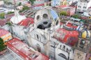 Rehabilitan 21 templos religiosos de la CDMX dañados por sismo
