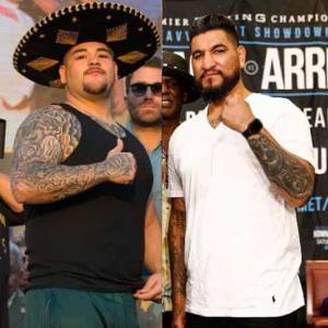 Andy Ruiz recibe burlas por parte de su próximo rival, Chris Arreola