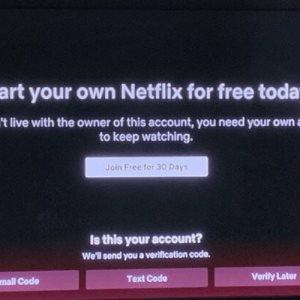 Netflix lanza en EE.UU. prueba para evitar el uso de cuentas compartidas