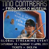 Tino Contreras at Frida Kahlo Museum will be streamed from the Casa Azul.