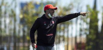 Sesión de entrenamiento previo al partido Xolos vs Mazatlán