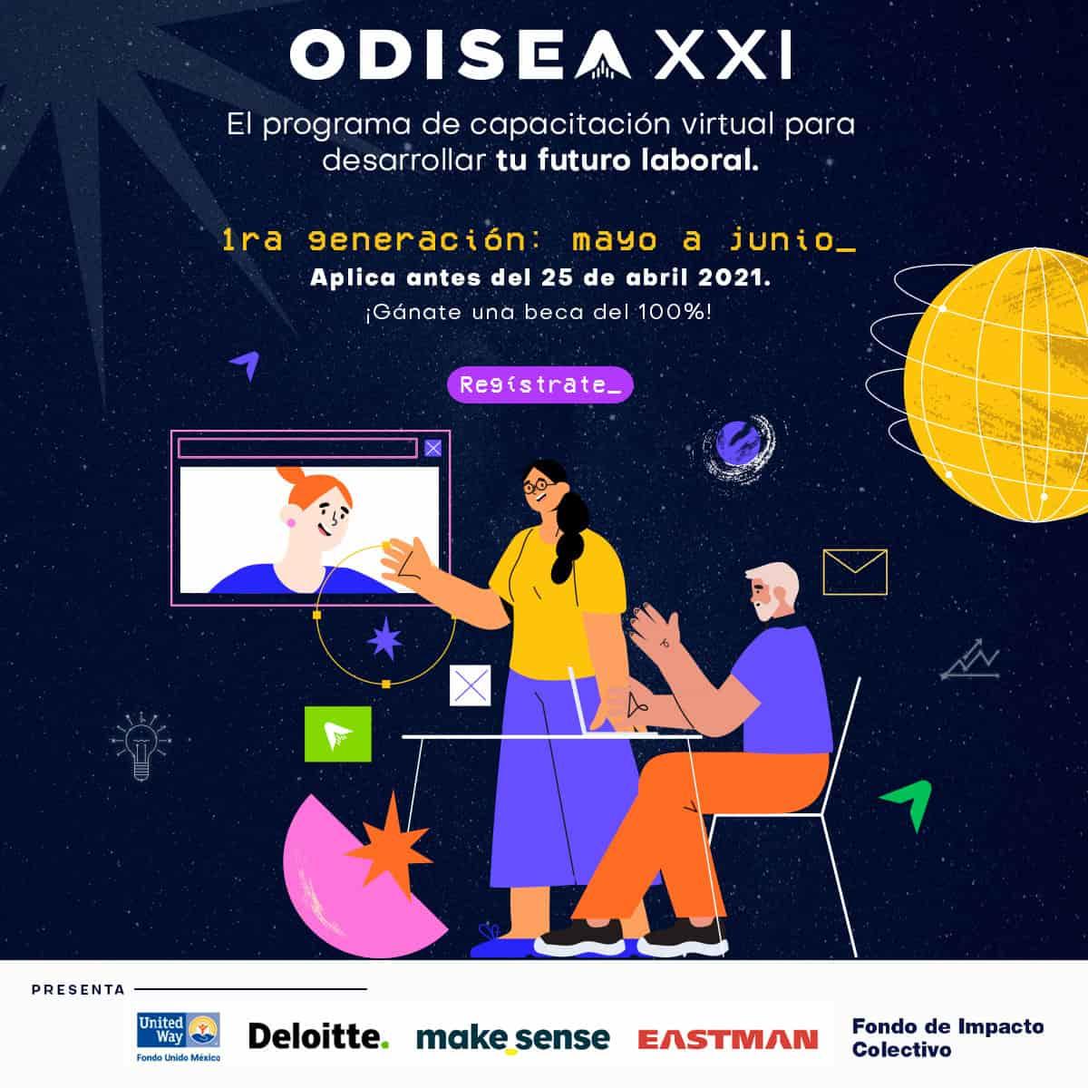 Odisea XXI: el curso virtual gratuito para potenciar el futuro laboral de jóvenes mexicanos