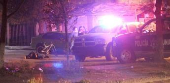 Hombre es ejecutado mientras circulaba en su bicicleta