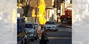 Explosión de gas provoca evacuación de vecinos de las colonias Gabilondo y Cubillas