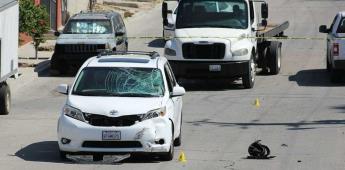 Joven pierde la vida al impactarse contra un vehículo