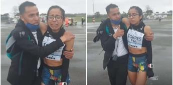 La corredora Daniela Huerta, representante de Querétaro, impone tiempo récord en Italia