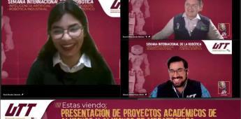 """Realizan la """"Semana Internacional de la Robótica"""" en UTT"""