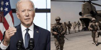 Tras 20 años de ocupación, Biden anuncia retiro de tropas de EU en Afganistán
