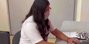 Aspirante de origen purépecha es aceptada en Harvard y recibe una beca completa
