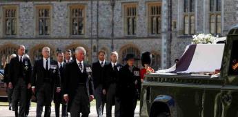 Así se llevó a cabo el funeral del príncipe Felipe de Edimburgo, esposo de la reina Isabel II
