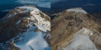 Se declara extinto el glaciar de Ayoloco en Iztaccíhuatl