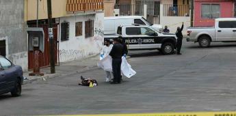 Masculino es ultimado a tiros sobre la vía pública