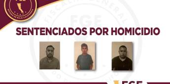 Logra la FGE sentencia de 20 años de prisión para tres sujetos por homicidio calificado