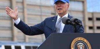 Biden cancela proyectos de muro fronterizo con México, según The Hill