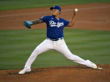 Julio Urías y los Dodgers le ponen fin a mala racha