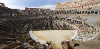 Coliseo romano recuperará su arena en 2023 con un proyecto ecososteni