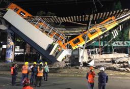 AMLO envía pésame a familiares de víctimas del accidente del Metro.