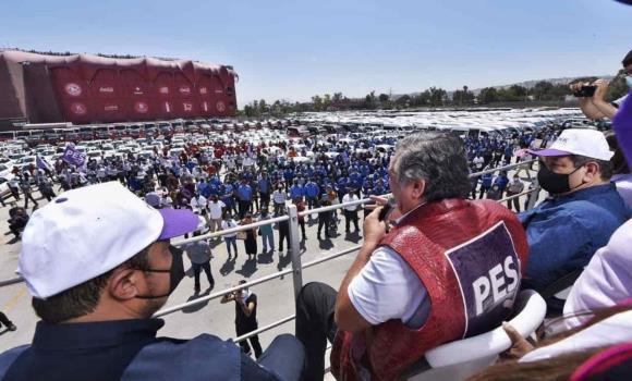 Transportistas brindan apoyo al proyecto político encabezado por Jorge Hank Rhon