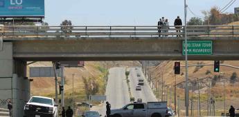 Encuentran cuerpo colgado en puente de la carretera Manuel J. Clouthier