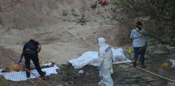 Localizan 2 cuerpos enterrados en el patio de un domicilio en la colonia Sánchez Taboada