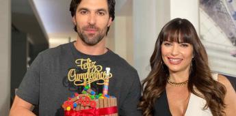 Diseñando tu amor festeja cumpleaños de Osvaldo de León