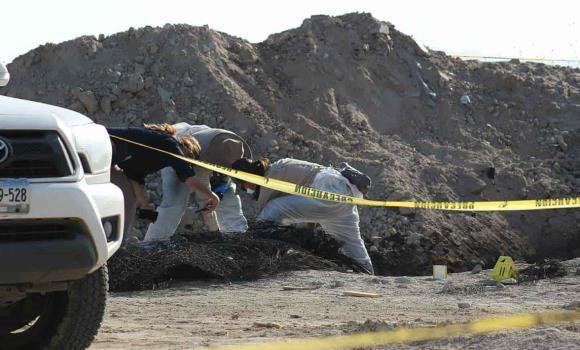 Colectivo Todos somos Erik Carrillo realizó excavaciones de búsqueda y localizo 4 osamentas