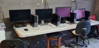 La FGE decomisó 8 computadoras con juegos para apuestas