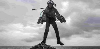 Marina de Reino Unido prueba trajes voladores tipo Iron Man
