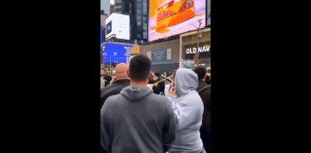 Se reportó tiroteo en el Times Square registrando un saldo de tres heridos