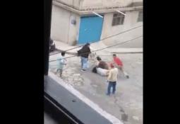 Reportan un cuerpo calcinado dentro de un tambo de basura